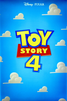 Toy Story 4 Poster D23 Expo