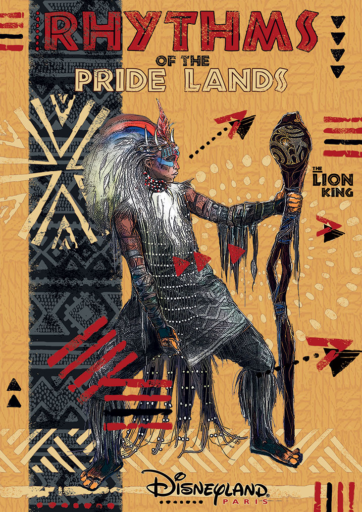 Rythms of the Pride Lands Poster