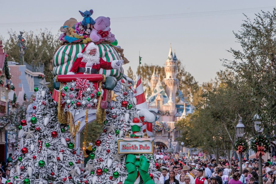 "Holidays at Disneyland Resort - ""A Christmas Fantasy"" Parade at Disneyland Park"