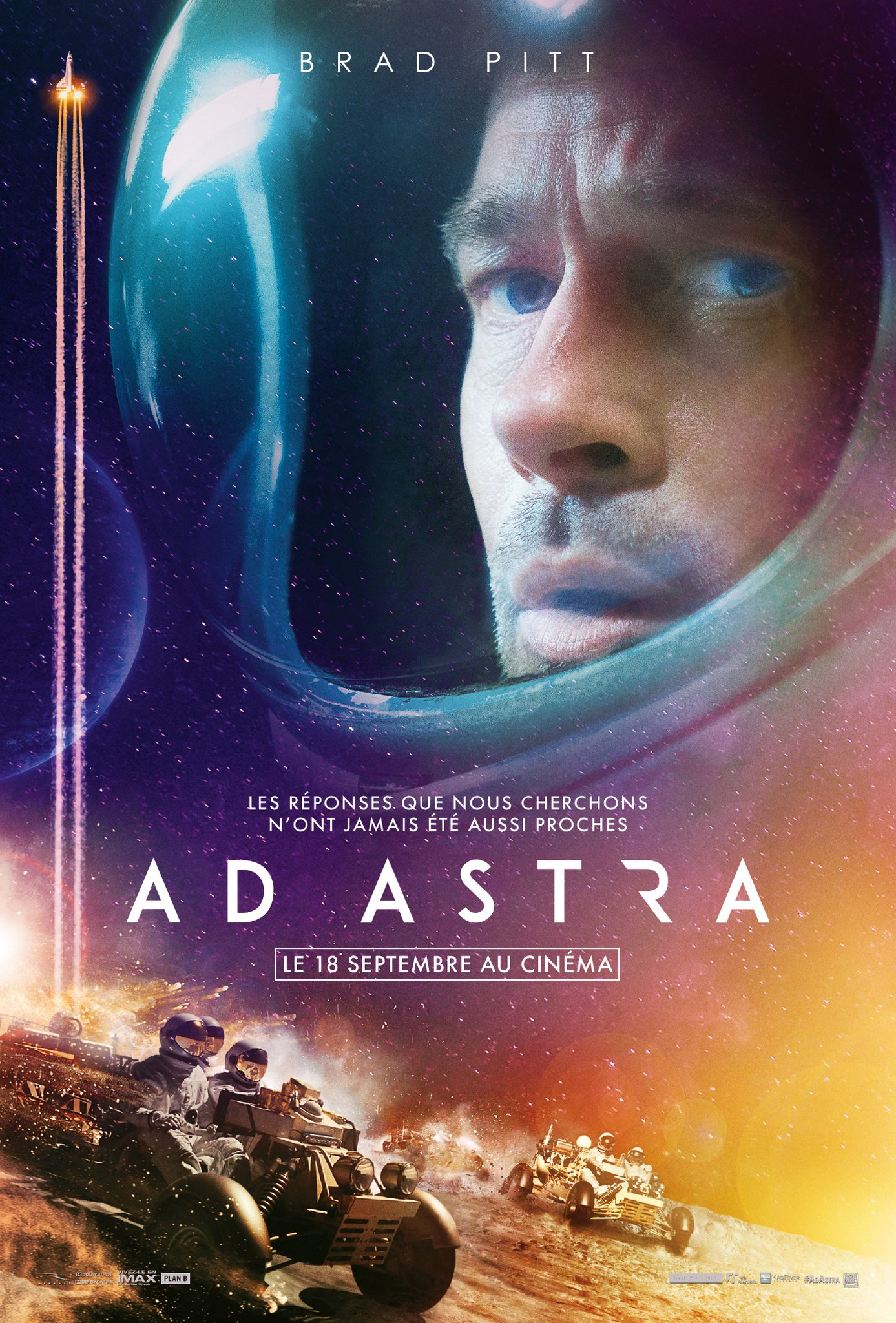 Ad Astra Affiche officielle