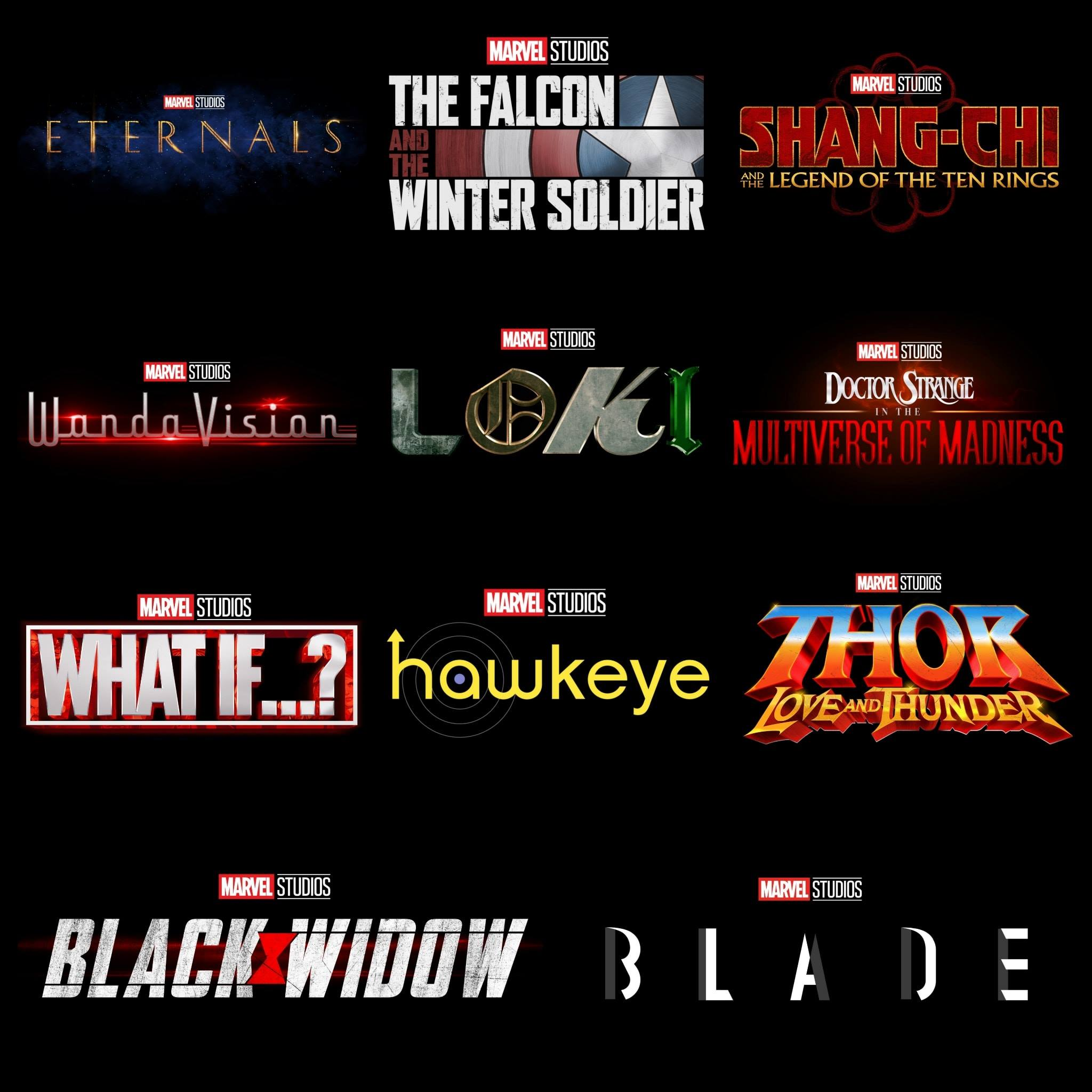 Logos Marvel Phase 4