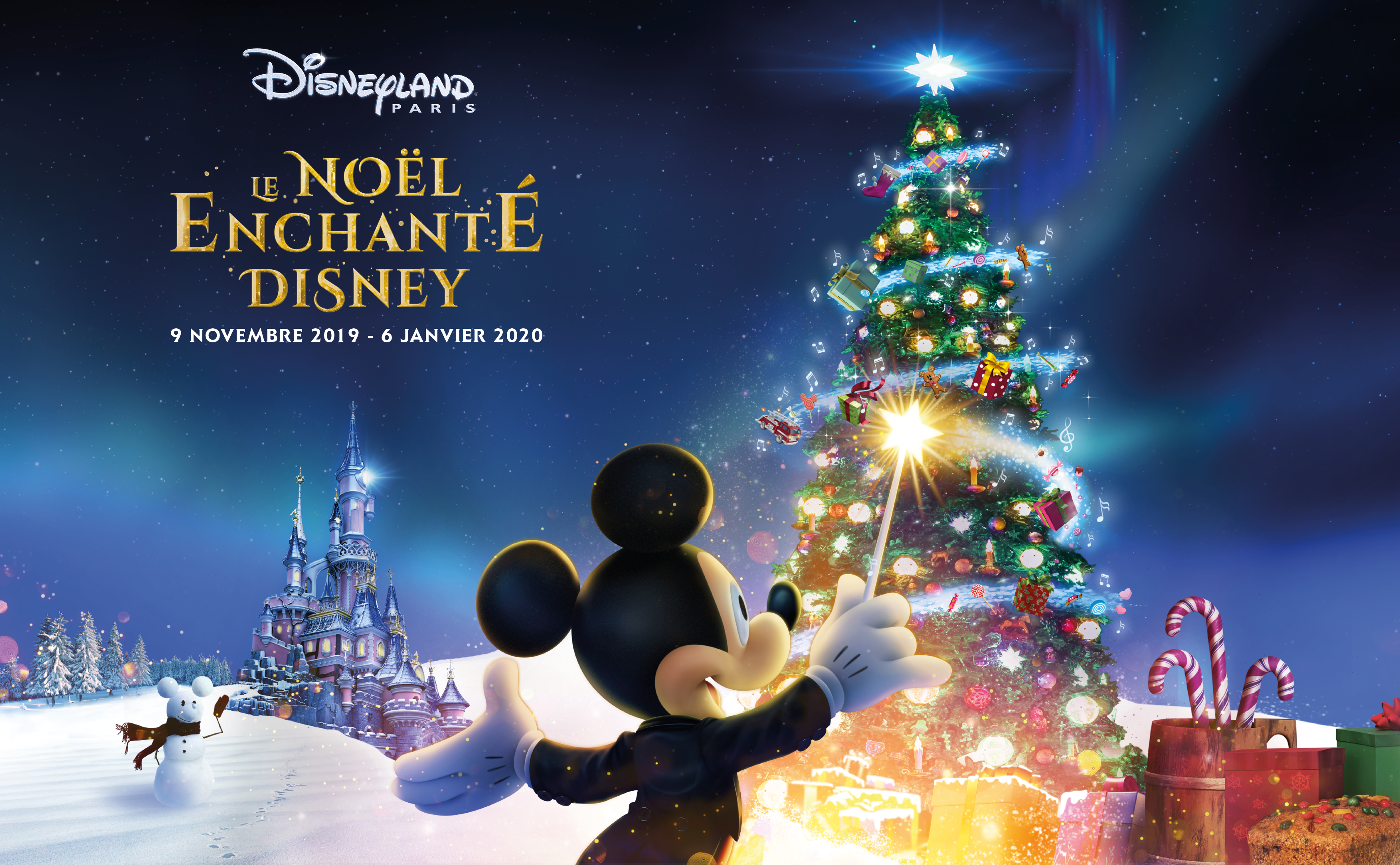 Noël Enchanté à Disneyland Paris 2019