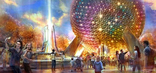 spaceship earth d23 expo 2019