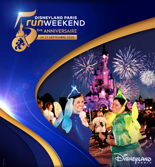 Disneyland Paris Run Weekend 5eme anniversaire 2020
