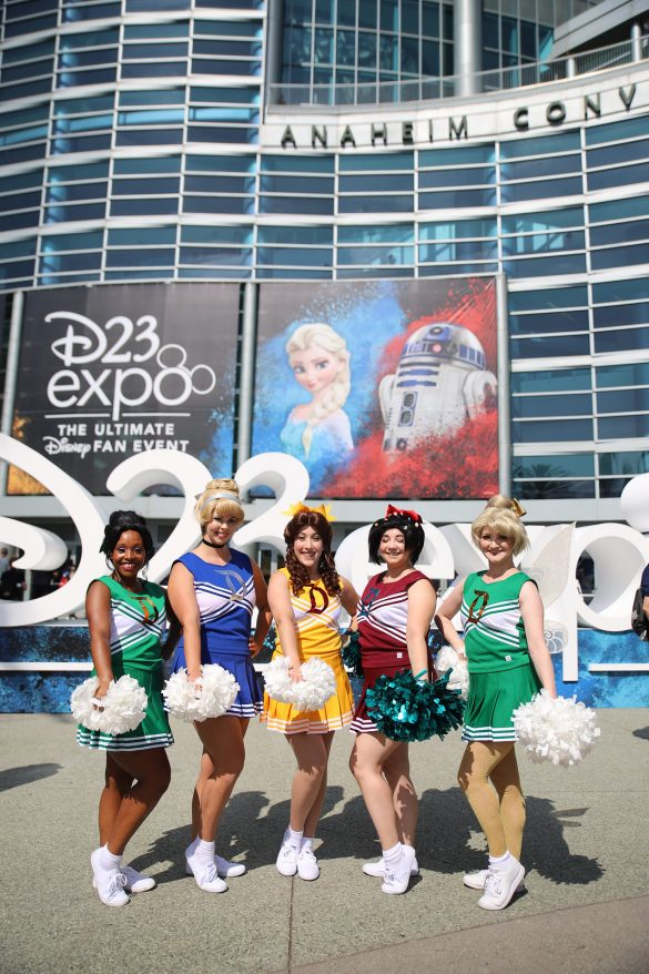 D23 EXPO 2019 - The Ultimate Disney Fan Event - brings together all the worlds of Disney under one roof for three packed days of presentations, pavilions, experiences, concerts, sneak peeks, shopping, and more. The event, which takes place August 23 - 25 at the Anaheim Convention Center, provides fans with unprecedented access to Disney films, television, games, theme parks, and celebrities. (The Walt Disney Company/Image Group LA)rD23 EXPO 2019