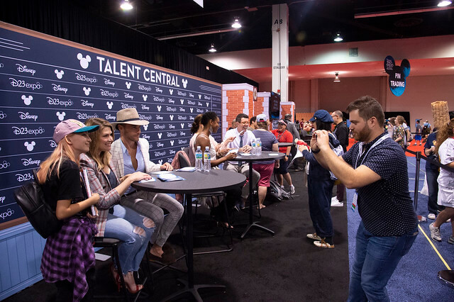 talent central d23 expo
