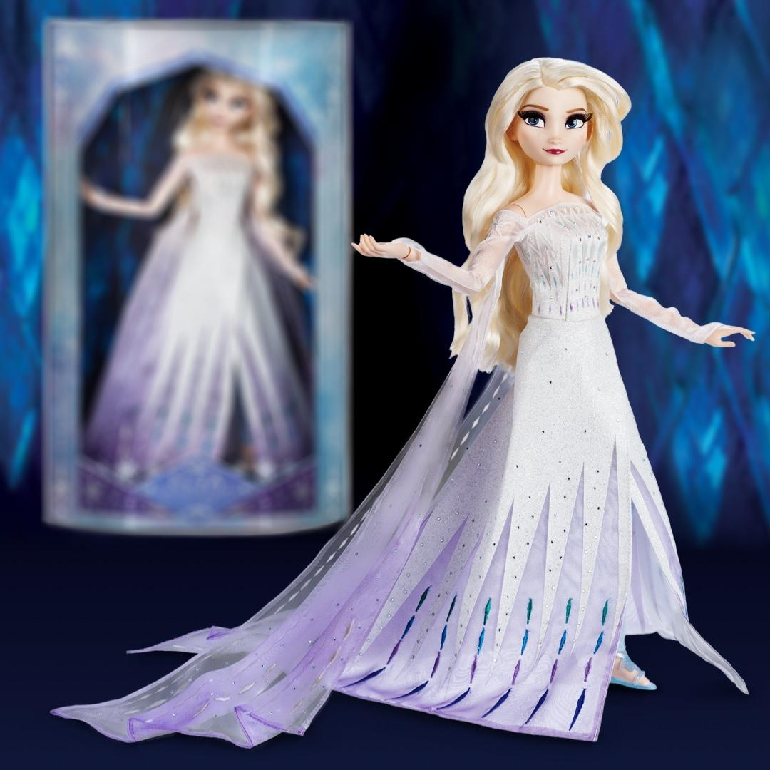 elsa shopdisney poupée collector